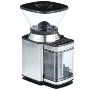 Cuisinart Supreme Grind 8 oz. Stainless Steel Burr Coffee Grinder with Adjustable Settings