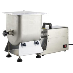 LEM Big Bite Stainless Steel Fixed Position Meat Stand Mixer 50 lbs. for Big Bite Grinders #12 head or larger