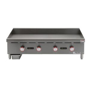 Magic Chef 48 in. Commercial Thermostatic Countertop Griddle