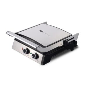 Elite 99 sq. in. Stainless Steel Indoor Grill and Griddle