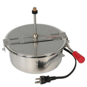Great Northern 8 oz. Stainless Steel Replacement Popcorn Kettle