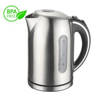 MegaChef 1.7 l Stainless Steel Electric Tea Kettle