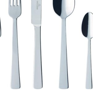 Villeroy & Boch Notting Hill 20-Piece Stainless Steel Flatware Service for 4