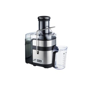 Weston Super Chute 1100 W 34 oz. Stainless Steel Centrifugal Juice Extractor with 3.5 inch Feed Chute