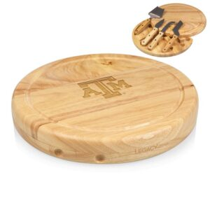 TOSCANA Texas A&M Aggies Circo Wood Cheese Board Set with Tools