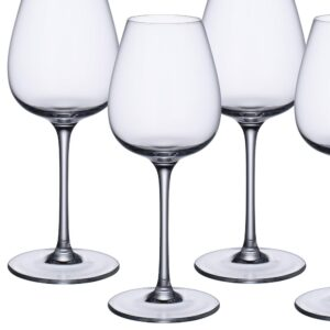 Villeroy & Boch Purismo 19.25 oz. Lead Free Crystal Red Wine Glass (4-Pack)