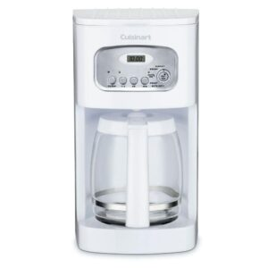 Cuisinart 12-Cup White Drip Coffee Maker with Carafe