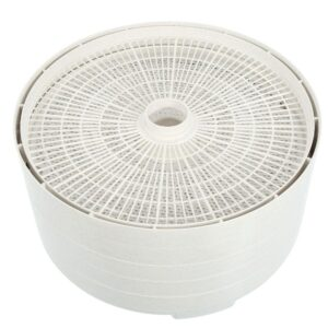 Nesco Snackmaster Pro 5-Tray White Food Dehydrator with Temperature Control